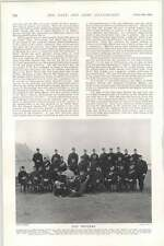 1903 Robin Hood Rifles Camp Great Yarmouth Ceos Officers Photo