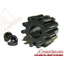 Answer-RC 22t 1/8th Pinion 5mm Bore Mod 1 Large Grub x 2 + Wrench - ANSCBE022