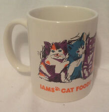 IAMS CAT FOODS GOOD FOR LIFE COFFEE MUG / CUP CERAMIC LINYI EC