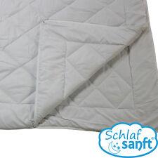 4-Jahreszeiten-Decke 135x200cm, 2x1200g, Ganzjahres-Bett Steppdecke Microfaser