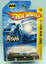 2203 HOT WHEELS / CARTE US / 2007 NEW MODELS / 1966 TV SERIES BATMOBILE 1/64