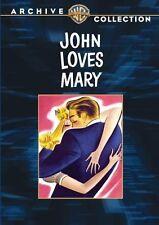 JOHN LOVES MARY - (B&W) (1948 Ronald Reagan) Region Free DVD - Sealed
