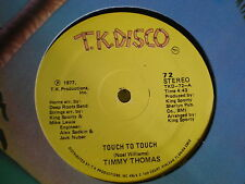 "Timmy Thomas 12""  Touch To Touch"