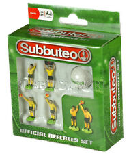 NEW SUBBUTEO REFEREE SET & BALL. PAUL LAMOND TABLE SOCCER. TABLE FOOTBALL.
