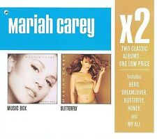 Music Box/Butterfly [Box] by Mariah Carey (CD 2008, 2 Disc) BRAND NEW SEALED