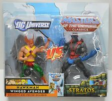 Masters of the Universe vs DC Universe Hawkman & Stratos Mattel Action Figure