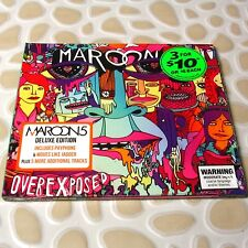 Maroon 5 - Overexposed Deluxe Edition AUSTRALIA CD 18 Tracks NEW Sealed #29-2