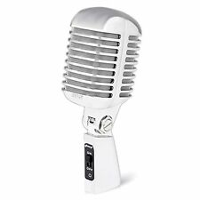 Pyle PDMICR42SL Classic Retro Vintage Style Dynamic Vocal Microphone with 15f...