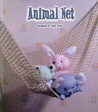 ANIMAL NET FOR TOYS CROCHET PATTERN INSTRUCTIONS ONLY FROM A BOOK