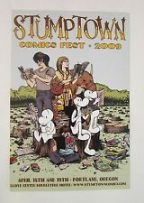 Jeff Smith's Bone Stumptown Comics Fest Postcard