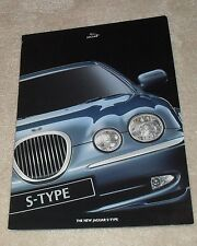 Jaguar S Type Promotional Launch Brochure 1999 - 3.0 V6 - 3.0 V6 SE - 4.0 V8