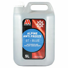 Millers Oils Alpine Antifreeze BT BLUE Concentrate - 5 Litre 5L