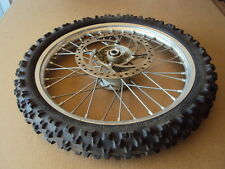 """04' KTM 85SX 85-SX 105 / 17"""" EXCEL FRONT WHEEL WITH ROTOR"""