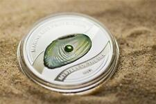 Palau 2012 5$ Marine Life Protection Pearl Jewel - Mystery of Sea Silver Coin