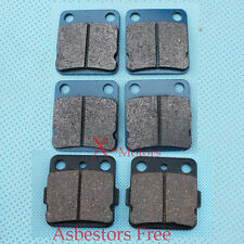 New Brake Pad YAMAHA YFM350 WARRIOR 350 ATV Front Rear Brake pads 1989-2004