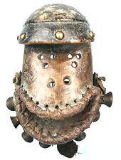 Art Africain Arts Premiers - Masque Bété Zoomorphe Crapaud - Bronzes et Cloches
