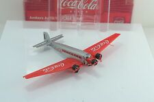 Lemke - Herpa Wings COCA COLA JU-52 Transport Airplane 1:160 N Scale