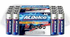 ACDelco AA Super Alkaline Batteries, 40-Count [reliable power] (AC232) NEW A2B