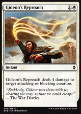 MTG 4x GIDEON's REPROACH - DISAPPROVAZIONE DI GIDEON - BFZ - MAGIC