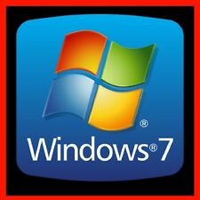 Windows 7 Professional Pro 64 / 32 Bit Genuine License Key Product Serial Code