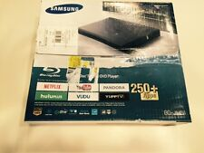 New Samsung BD-JM51 Wired Network Blu Ray DVD Player NetFlix YouTube And +