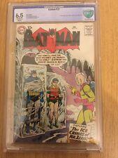 DC - Batman #121 CBCS 6.5.  1st Mr. Freeze Off-White/White Pages