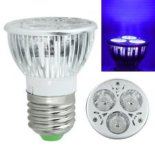 3W 85-265V/12V E27/UV LED Ultraviolet Purple Bulb light Spotlight Lamp Fine