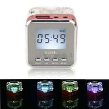 Mini Speaker Portable Micro SD/TF Music MP3/4 Player USB Disk FM Radio Red NEW