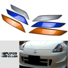 PAINTED 350 Z33 FAIRLADY Z COUPE HEDALIDS EYEBROWS EYELIDS 03-08