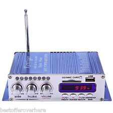 HY-502 Hi-Fi Digital Auto Car Stereo Power Amplifier LED Sound Audio Music
