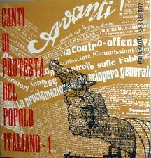 """CANTI DI PROTESTA DEL POPOLO ITALIANO 1 7"""" EP IL CRACK DELLE BANCHE + 5- ANNO 63"""