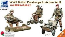Bronco 1/35 WWII British Paratroops in Action Set B # CB35192
