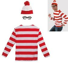 Adult Where's Waldo Costume - Size Large / X-Large -NEW!!