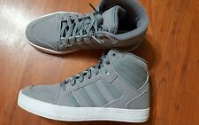 Adidas Mens Size 8.5 Gray Raliegh Neo Mid Tops Ortholite NWOB