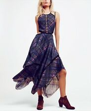 Free People Women's $128 Glasgow Cutout Dress Printed (Size XS) F16Y01406