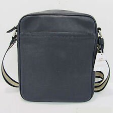 NWT Coach Flight Messenger Bag Smooth Midnight Leather 54782 Gift Rcpt