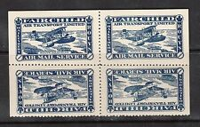 Canada #CL11a VF/NH Tete Beche Block Of Four