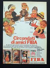 F269-Advertising Pubblicità-1975-FIBA SIMPATICONI,HOPPY HIPPY,ALLEGRONI