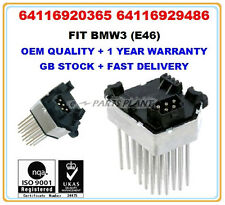 BMW 3 E46 HEATER BLOWER FINAL STAGE RESISTOR HEDGEHOG 64116920365 64116929486 OE