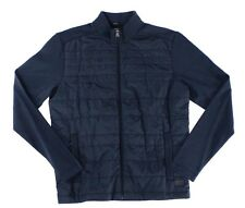 BOSS Hugo Boss NEW Navy Blue Mens Size Large L Full-Zip Quilted Jacket $295 156