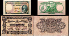 !COPY! STRAITS SETTLEMENTS 5$ 1916 & 10$ 1935 BANKNOTES !NOT REAL!