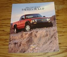Original 1996 Chevrolet Truck S-Series Pickup Sales Brochure 96 Chevy