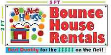 BOUNCE HOUSE RENTALS Banner Sign NEW Larger Size Best Quality for the $$$