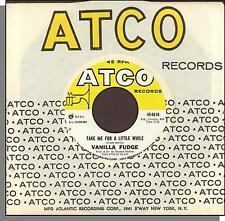 "Vanilla Fudge - Take Me For a Little While + Thoughts - ATCO 7"" 45 RPM Single!"