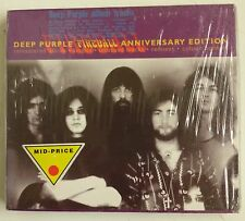 Deep Purple Fireball Anniversary Edition CD UK 1996 Sobrecubierta carton a color