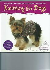 KNITTING FOR DOGS / SWEATERS COATS ACCESSORIES & MORE / KRISTI PORTER 0749926651