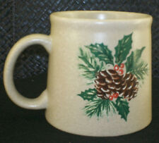 Vintage very Rare PINE CREEK LODGE PINE CONE PAPEL GIFTWARE LARGE MUG