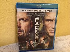 THE PACKAGE BLU-RAY 2013 ACTION MOVIE STEVE AUSTIN (WWE) DOLPH LUNDGREN