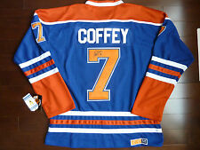 PAUL COFFEY SIGNED EDMONTON OILERS JERSEY