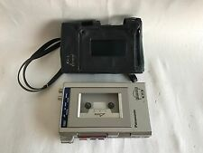 Vintage Panasonic RQ-J6 Stereo Portable Cassette Recorder/Player with Carry Case